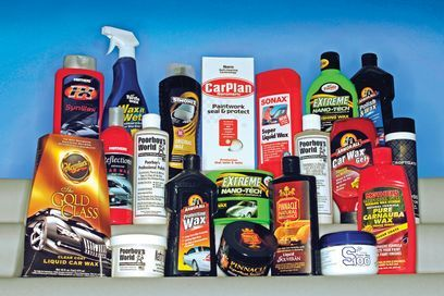 car polishes range